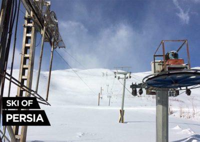 The two ski-lifts of Chelgerd ski resort