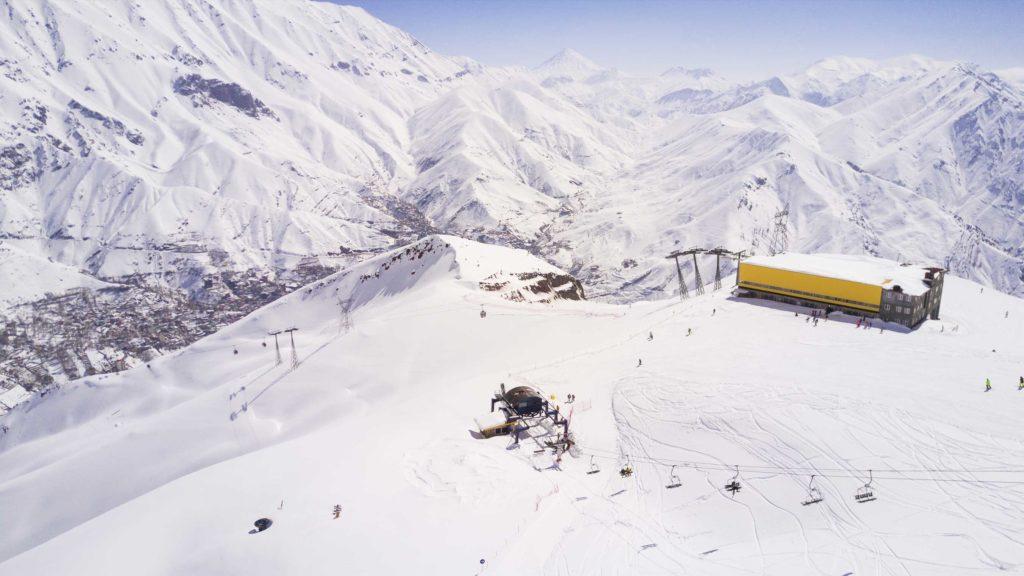 Stations de ski en Iran pour skier et faire du snowboard