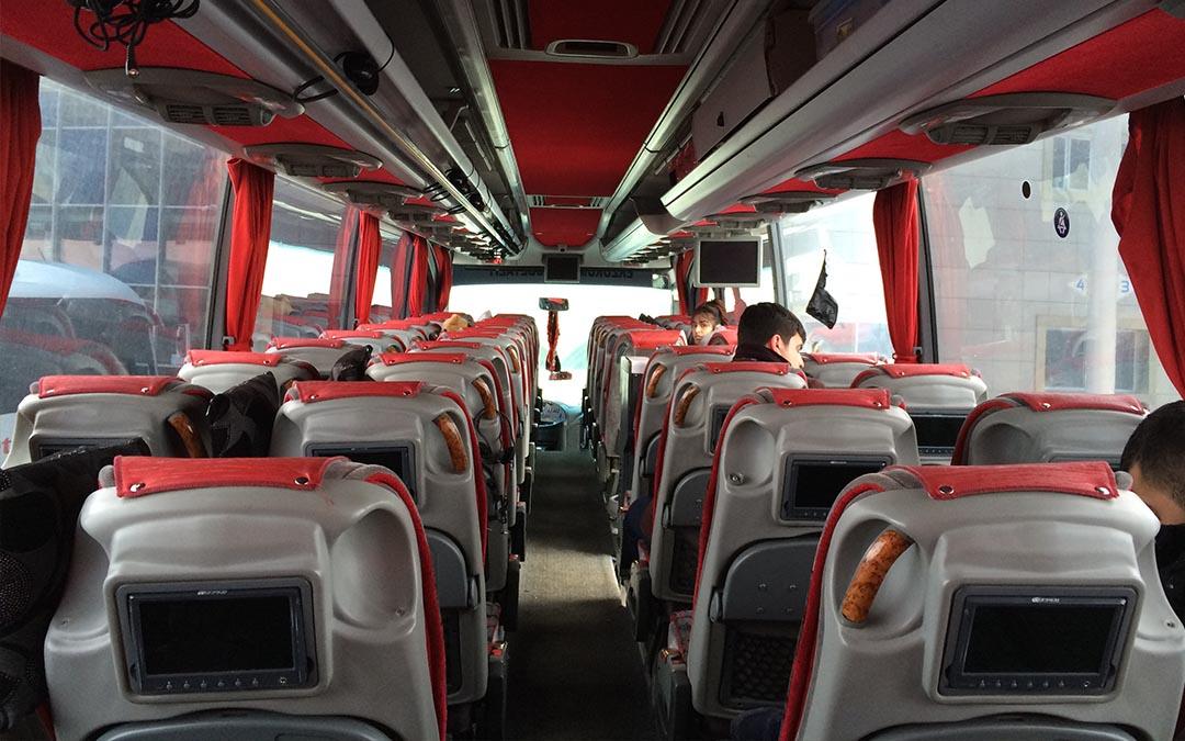 NO PLANE, NO GAIN ! France – Iran en bus
