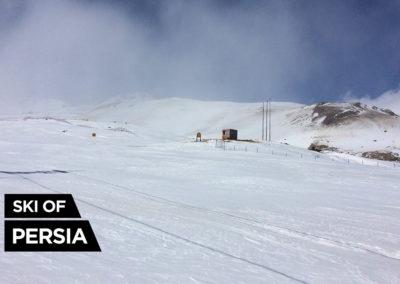 Piste de ski d'Alvares en Iran