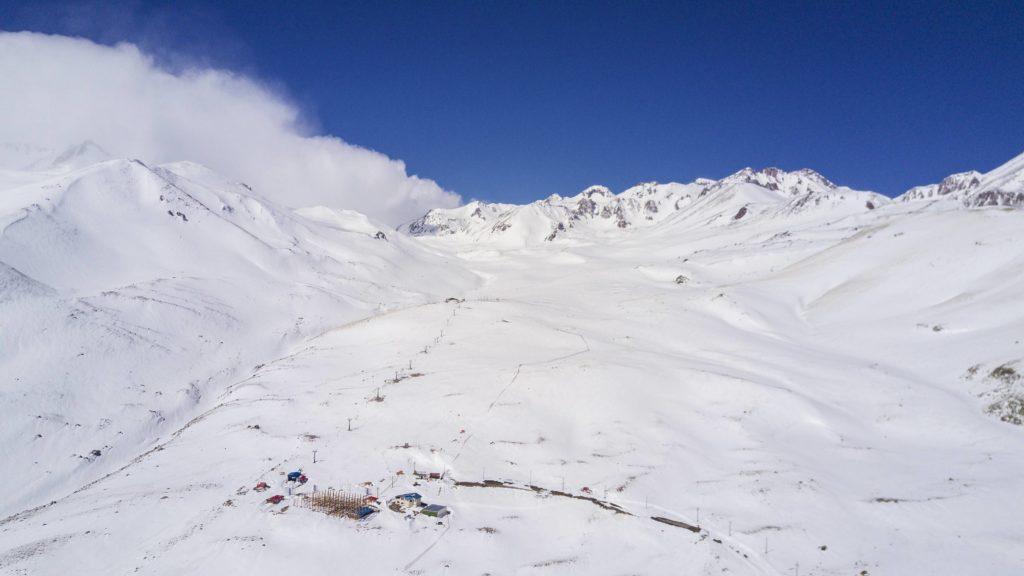 Station de ski de Alvares vers Ardabil en Iran