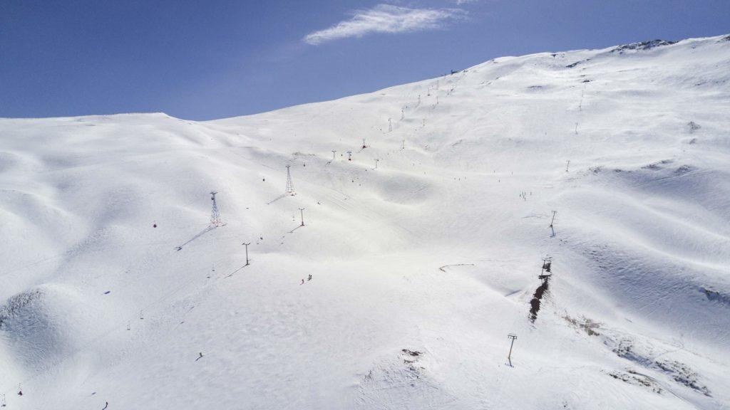 Station de ski de Dizin en Iran