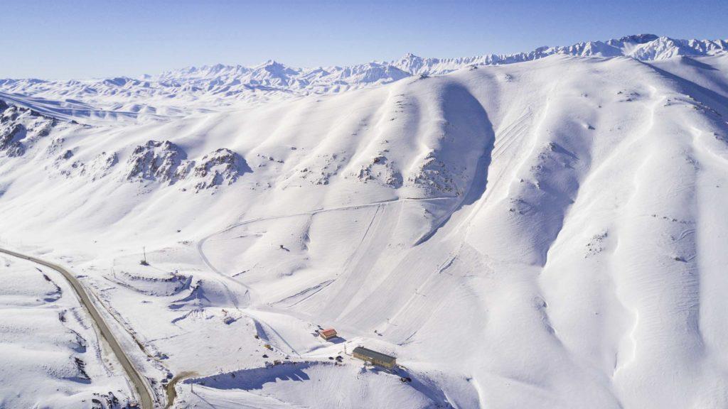 Station de ski de Fereydunshahr en Iran
