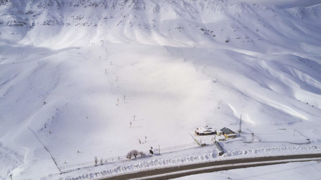 Kakan ski resort in Iran