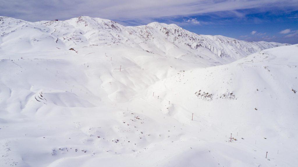Station de ski de Pooladkaf en Iran