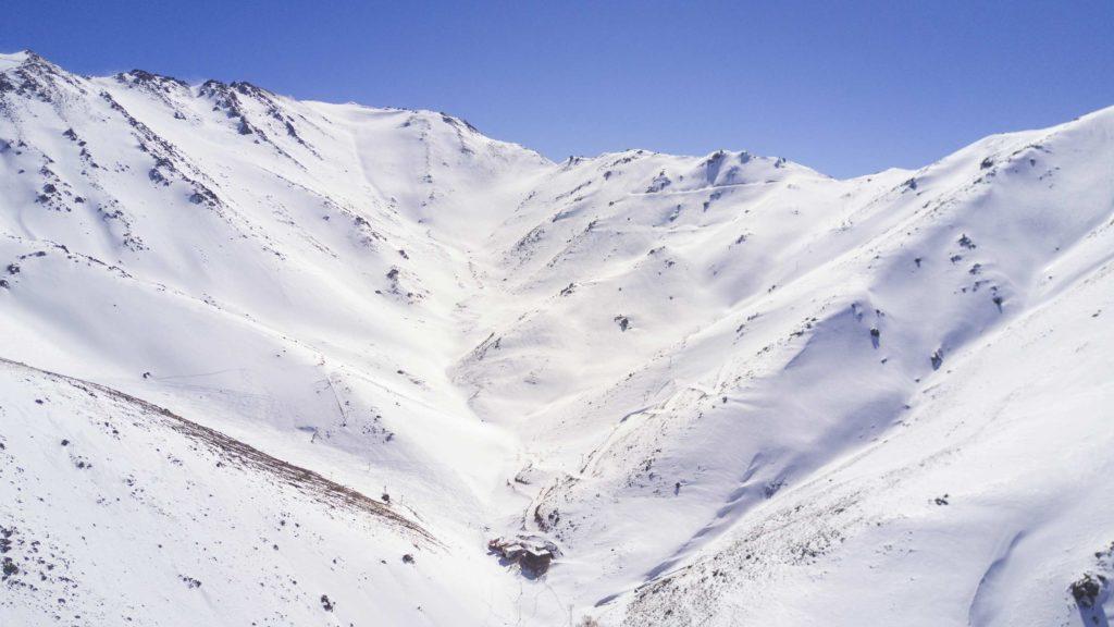 Tarik Dareh ski resort in Iran