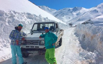 Iranian snow walls 2017