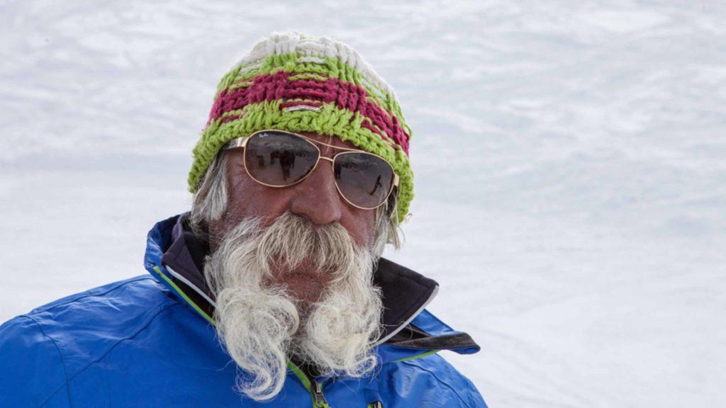 Reza - A skier in Shemshak