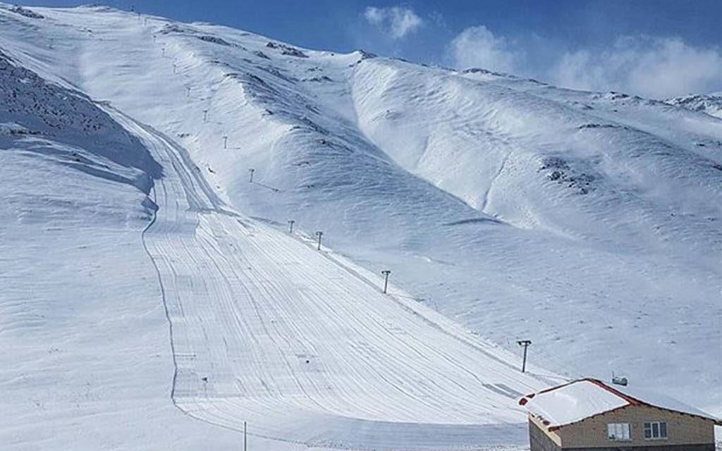 Ouverture de la station de ski de Fereydunshahr