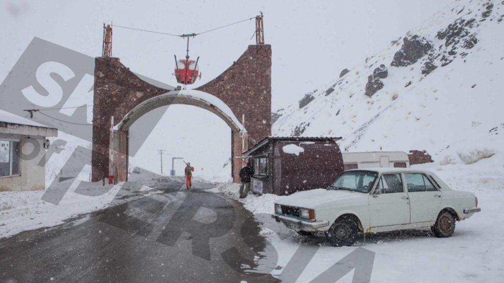 Météo neigeuse à Dizin en Iran