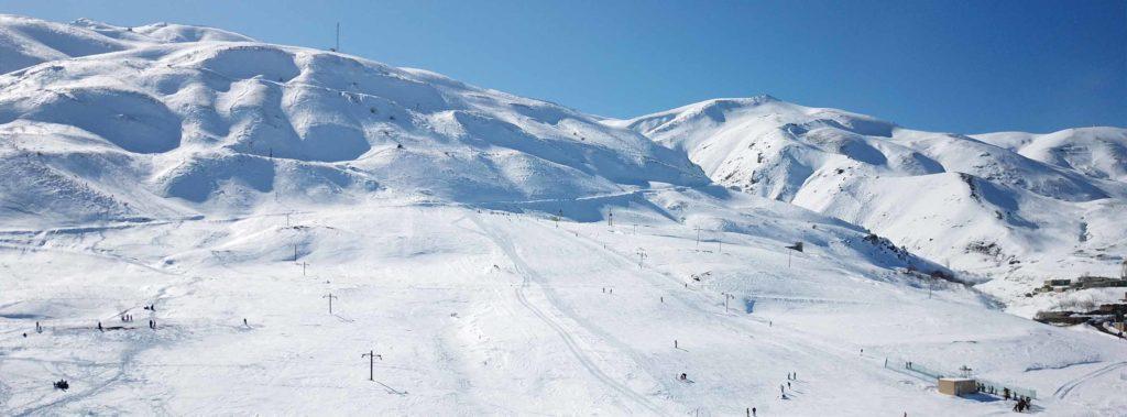 Station de ski de Khoshakoo en Iran