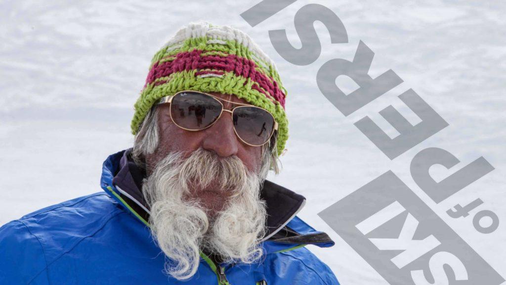 Reza skier in Iran