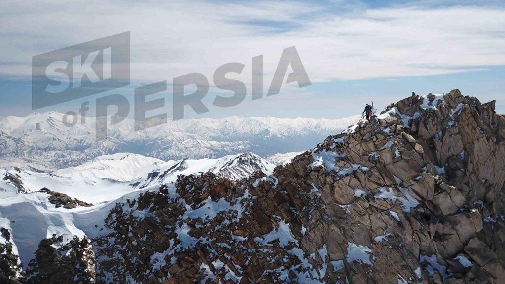 Ski de randonnée à Alam Kuh