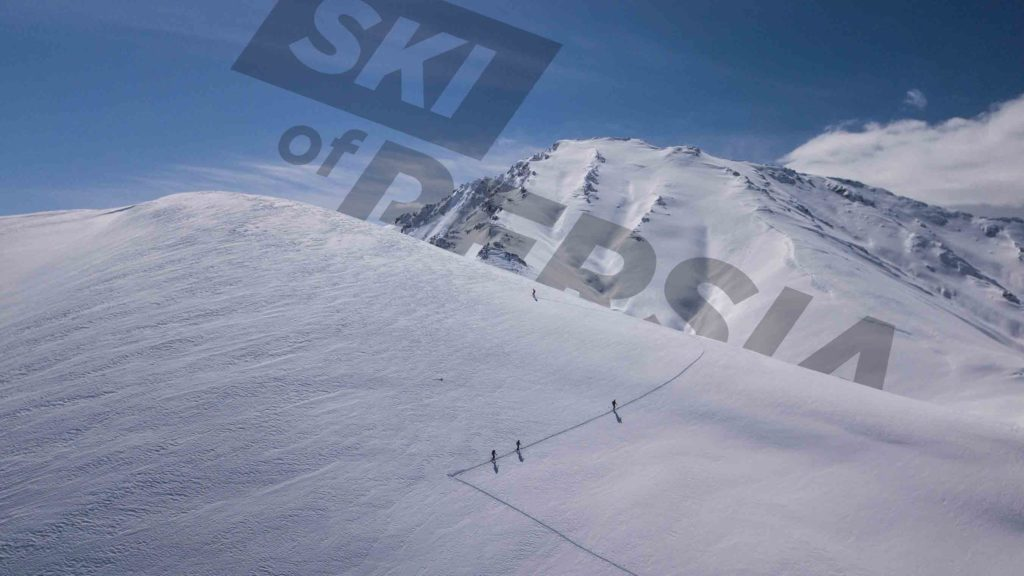 Ski touring around the big ski resorts in Iran